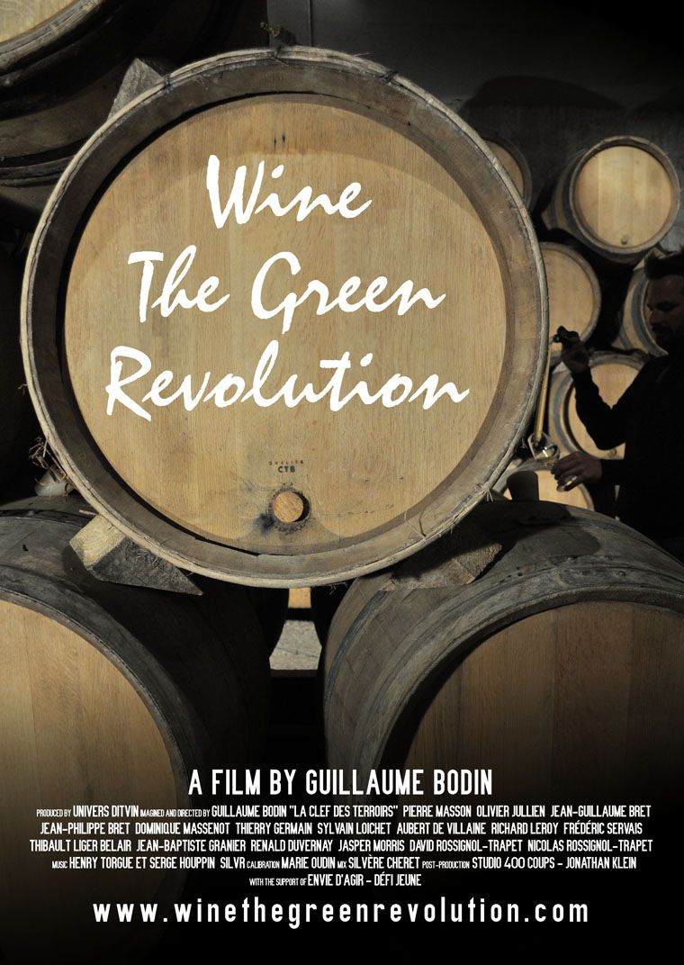 Poster Film Wine The Green Revolution