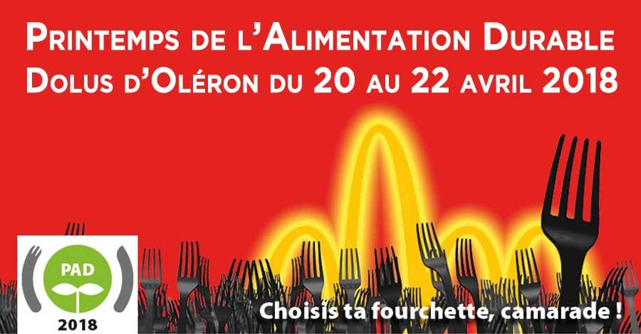 Printemps de l'alimentation durable 2018