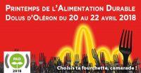 Printemps de l'Alimentation Durable 2018 à Dolus d'Oléron