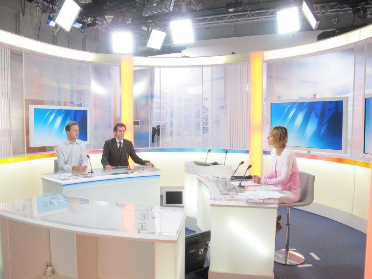 Guillaume Bodin en direct sur France 3 Aquitaine le 3 mai 2011