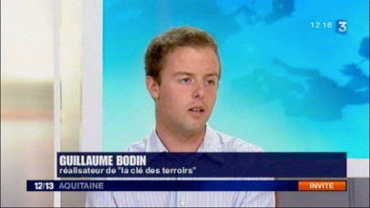 Direct de Guillaume Bodin sur France 3 Aquitaine