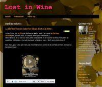 Le site Lost in Wine de Ninna Izzo